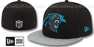 Panthers '2014 NFL DRAFT' Black Fitted Hat by New Era