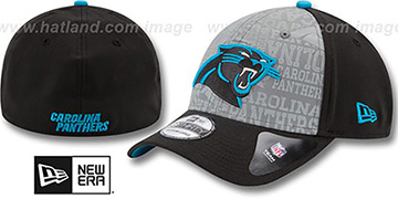Panthers '2014 NFL DRAFT FLEX' Black Hat by New Era