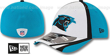 Panthers '2014 NFL TRAINING FLEX' White Hat by New Era