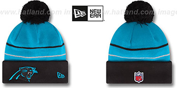 Panthers '2014 THANKSGIVING DAY' Knit Beanie Hat by New Era