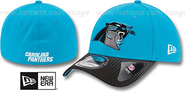 Panthers 2015 NFL DRAFT FLEX  Hat by New Era