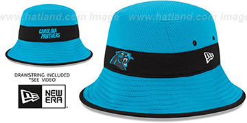 Panthers '2015 NFL TRAINING BUCKET' Blue Hat by New Era