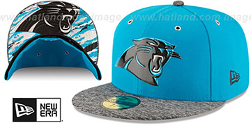 Panthers 2016 NFL DRAFT Fitted Hat by New Era
