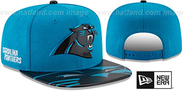 Panthers '2017 NFL ONSTAGE SNAPBACK' Hat by New Era