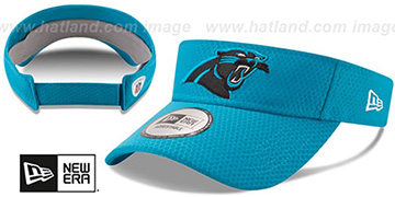 Panthers '2017 NFL TRAINING VISOR' Blue by New Era