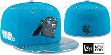 Panthers '2017 SPOTLIGHT' Fitted Hat by New Era