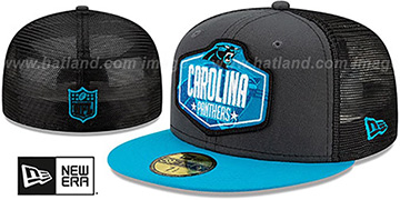 Panthers '2021 NFL TRUCKER DRAFT' Fitted Hat by New Era