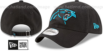 Panthers CORE-CLASSIC STRAPBACK Black Hat by New Era