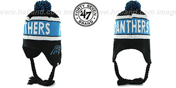 Panthers 'CRANBROOK' Knit Beanie Hat by Twins 47 Brand