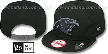 Panthers 'FADEOUT SNAPBACK' Black-Grey Hat by New Era