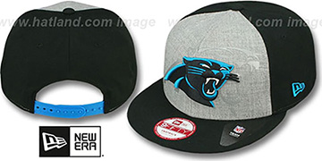 Panthers 'HEATHER-REFLECT SNAPBACK' Grey-Black Hat by New Era