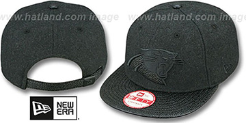 Panthers 'MELTON STINGER STRAPBACK' Hat by New Era