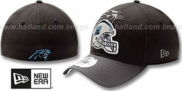 Panthers NFL BLACK-CLASSIC FLEX Hat by New Era