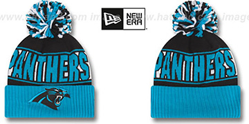 Panthers 'REP-UR-TEAM' Knit Beanie Hat by New Era