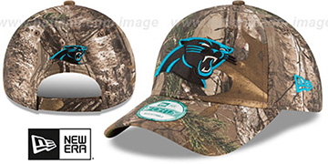 Panthers 'THE LEAGUE REALTREE' Strapback Hat by New Era