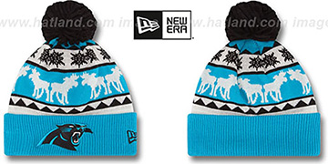 Panthers 'THE-MOOSER' Knit Beanie Hat by New Era