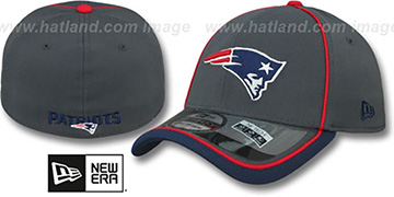 Patriots 2014 NFL STADIUM FLEX Grey Hat by New Era