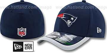 Patriots 2014 NFL STADIUM FLEX Navy Hat by New Era