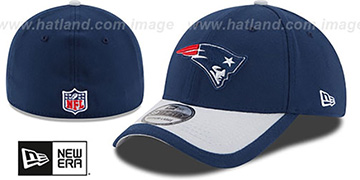 Patriots 2015 NFL STADIUM FLEX Navy-Grey Hat by New Era