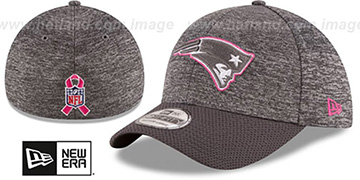 Patriots 2016 BCA FLEX Grey-Grey Hat by New Era