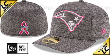 Patriots 2016 LOW-CROWN BCA Grey Fitted Hat by New Era