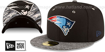 Patriots '2016 MONOCHROME NFL DRAFT' Fitted Hat by New Era