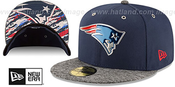 Patriots '2016 NFL DRAFT' Fitted Hat by New Era