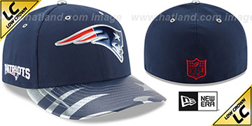 Patriots '2017 LOW-CROWN SPOTLIGHT' Fitted Hat by New Era