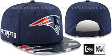 Patriots '2017 NFL ONSTAGE SNAPBACK' Hat by New Era