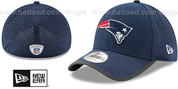 Patriots 2017 NFL TRAINING FLEX Navy Hat by New Era