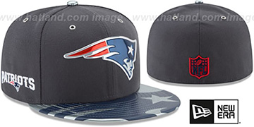 Patriots '2017 SPOTLIGHT' Charcoal Fitted Hat by New Era