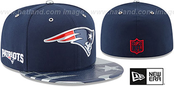Patriots '2017 SPOTLIGHT' Fitted Hat by New Era