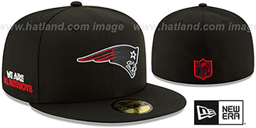 Patriots 2020 NFL VIRTUAL DRAFT Black Fitted Hat by New Era