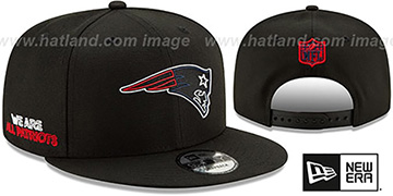 Patriots '2020 NFL VIRTUAL DRAFT SNAPBACK' Black Hat by New Era