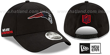 Patriots 2020 NFL VIRTUAL DRAFT STRETCH-SNAP Black Hat by New Era