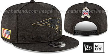 Patriots 2020 SALUTE-TO-SERVICE SNAPBACK ST Black Hat by New Era