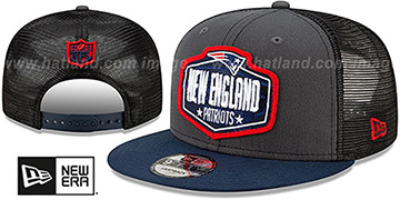 Patriots 2021 NFL TRUCKER DRAFT SNAPBACK Hat by New Era