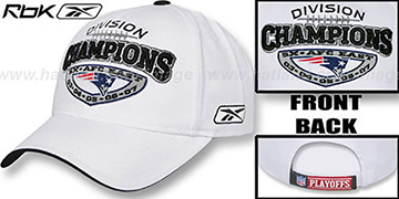 Patriots 5X AFC EAST DIVISION CHAMPS Hat by Reebok