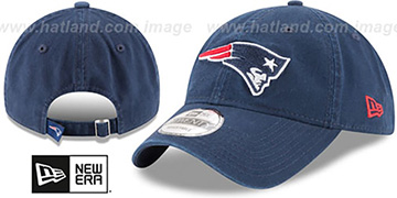 Patriots 'CORE-CLASSIC STRAPBACK' Navy Hat by New Era
