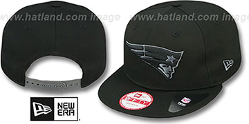 Patriots 'FADEOUT SNAPBACK' Black-Grey Hat by New Era