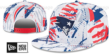 Patriots 'GEOMET TRICK SNAPBACK' Hat by New Era