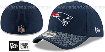 Patriots 'HONEYCOMB STADIUM FLEX' Navy Hat by New Era
