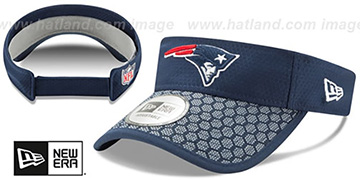 Patriots 'HONEYCOMB STADIUM VISOR' Navy by New Era