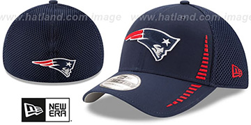 Patriots 'NEO SPEED MESH-BACK' Navy Flex Hat by New Era