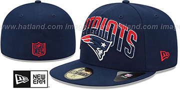 Patriots 'NFL 2013 DRAFT' Navy 59FIFTY Fitted Hat by New Era