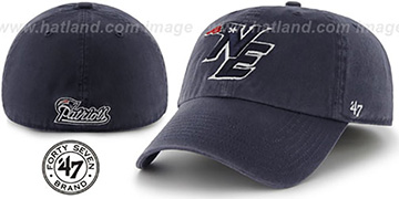 Patriots 'NFL ALTERNATE FRANCHISE' Navy Hat by 47 Brand