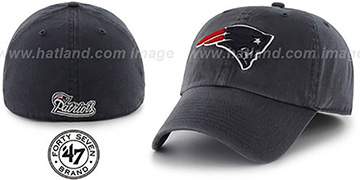 Patriots NFL FRANCHISE Navy Hat by 47 Brand