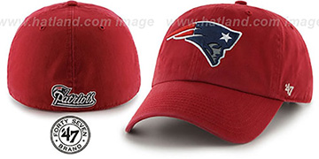 Patriots NFL FRANCHISE Red Hat by Twins 47 Brand
