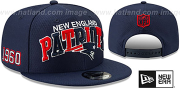 Patriots ONFIELD STADIUM 100 SNAPBACK Hat by New Era