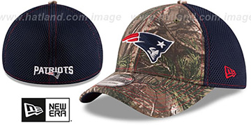 Patriots REALTREE NEO MESH-BACK Flex Hat by New Era
